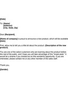 Ceo Announcement Press Release Template by New Product Announcement Template