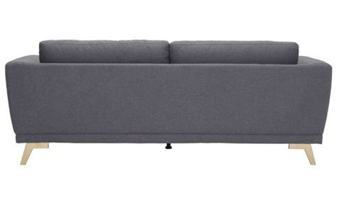 back to back sofa surreptitious modern sofa in gray by zuo get furniture