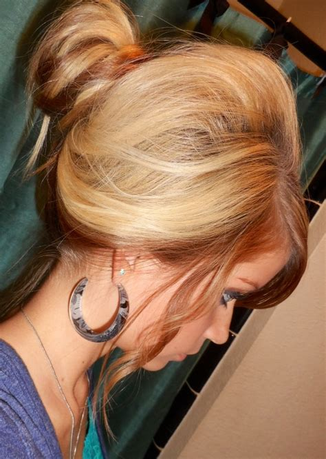 blonde hair with caramel lowlights pin by katie kokoski on my style pinterest
