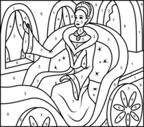 princess coloring pages by numbers princesses coloring pages
