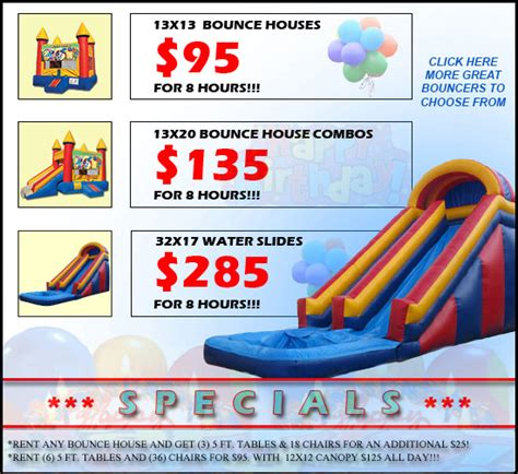 party house rentals las vegas home sky jumpers bounce houses serving las vegas north