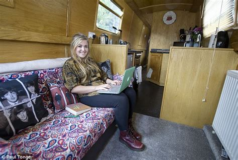 living on a narrow boat in london student avoids high cost of london accommodation living in