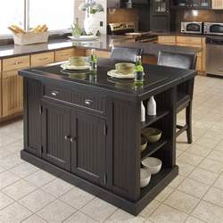 black kitchen island with stools discount islands breakfast tables and portable kitchen island