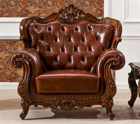 wooden carving sofa set italy leather with carving solid wood 3 sofa