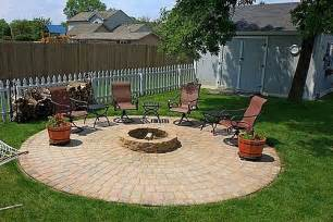 how to build a patio and pit with easy