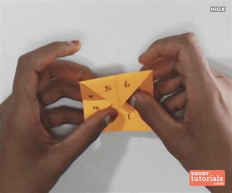 How To Make A Paper Fortune Teller Step By Step - how to make a fortune teller origami paper fortune teller