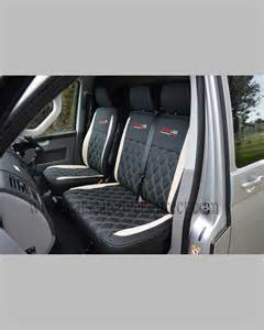 Seat Covers For Vw Transporter Vw T5 Seat Covers Black White Car Seat Covers Direct