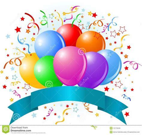 ideas free home design birthday balloons design royalty free stock