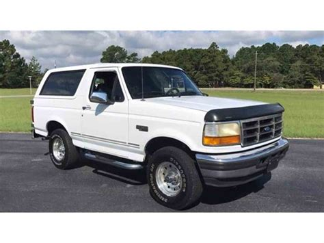 old car manuals online 1996 ford bronco parking system 1996 ford bronco for sale classiccars com cc 1041933