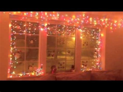 christmas decorating using christmas lights indoors youtube