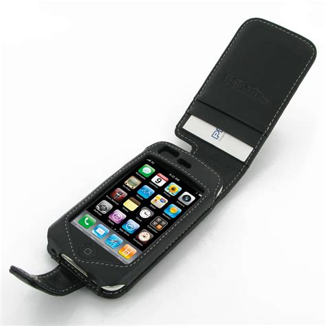 Flipcover Iphone 3g Or Iphone 3gs iphone 3g 3gs leather flip black pdair sleeve pouch holster