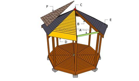 gazebo roof plans free gazebo plans myoutdoorplans free woodworking