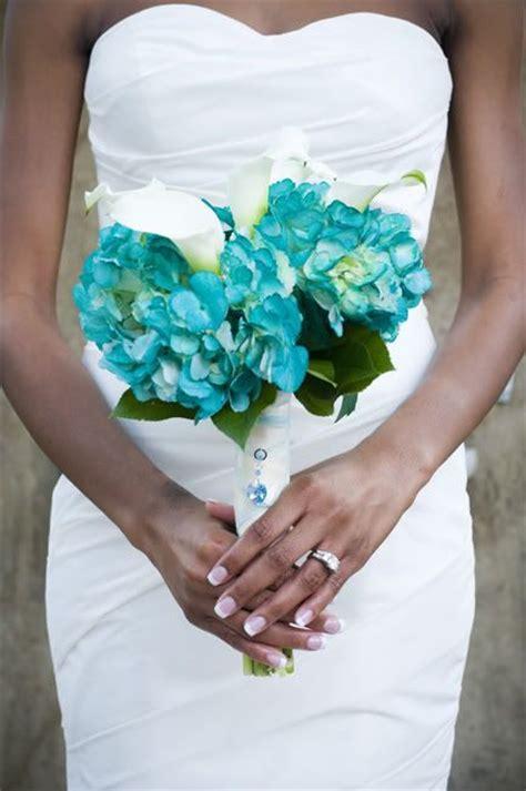 Wedding Bouquet Charms Uk by Bouquet Charm Aqua Wedding Bouquet Charm