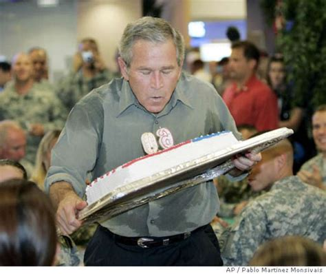 george w bush birthday happy birthday mr president bush broods a bit about age as he hits 60 sfgate