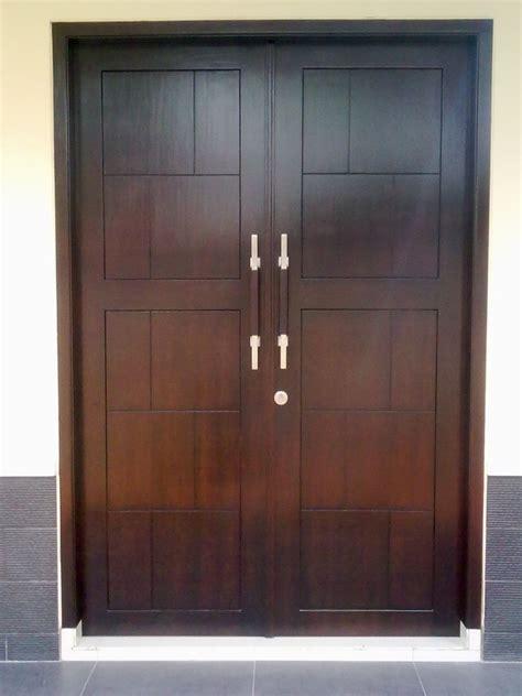 contoh pintu depan rumah minimalis renovasi rumahnet