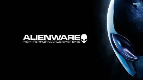 Black And Blue Alienware Wallpaper 9 Background