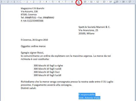 tipi di lettere commerciali appunti per il gruppo computer elaborazione di testi