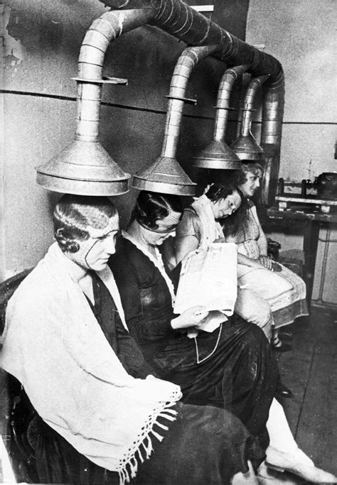 Hair Dryer History vintage salons hilarious photos of the early hair
