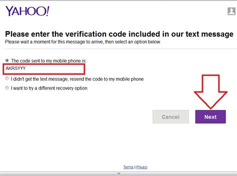 yahoo email verification code not received how to find a lost password yahoo mail