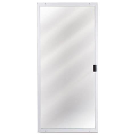 Patio Door Screen Replacement Lowes by Lowes Columbia White Heavy Weight Patio Screen Door Patio