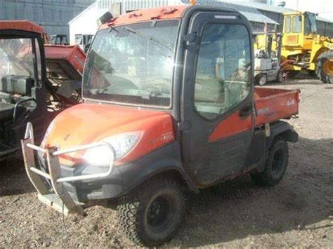 kubota side by side 4 wheeler kubota rtv 1100 4x4 diesel dump atv side by side 4 wheeler