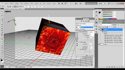 tutorial gambar 3d photoshop tutorial 3d en photoshop youtube