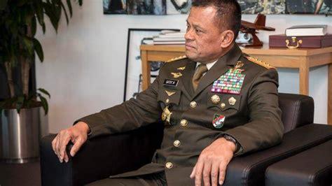 general gatot nurmantyo biography why indonesian general gatot nurmantyo halted military