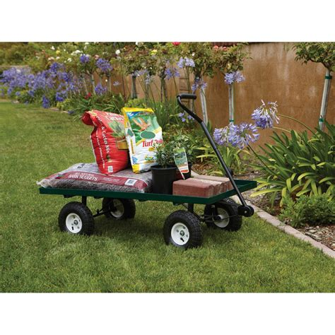 Harbor Freight Garden Cart by Mesh Deck Steel Wagon Harbor Freight Tools