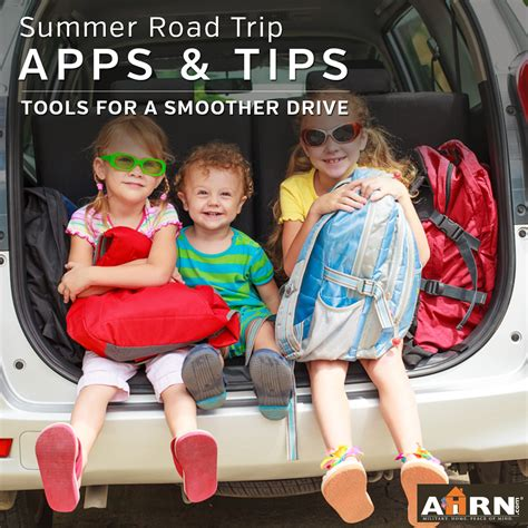 apps  tips   summer road trip ahrncom