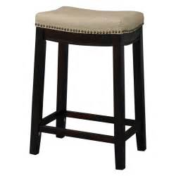 Counter Height Bar Stool Linon 24 In Backless Counter Height Stool Bar Stools At Hayneedle