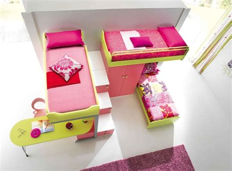cool and ergonomic bedroom ideas for two children by ergonomic kids bedroom designs for two children from
