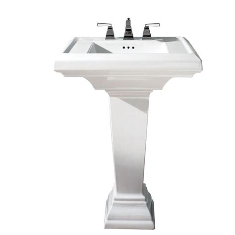 home bathroom pedestal sinks american standard town square pedestal combo bathroom