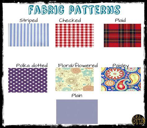 Clothes Pattern Esl   fabric patterns esl efl english clothing pinterest