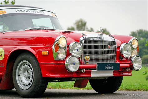 mercedes rally mercedes 280 se 3 5 rally car 1970 classicargarage