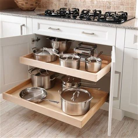kitchen pan storage ideas 17 best ideas about kitchen cabinets on pinterest