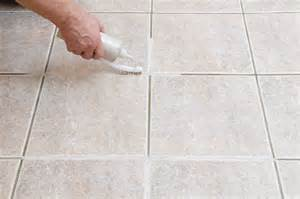 how to clean grout on tile floors