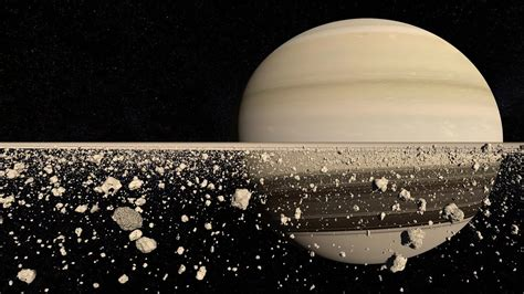 what is saturn ring made of saturn s rings