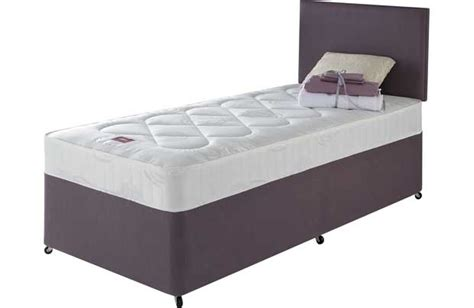 compare beds comfort airsprung penryn comfort single divan bed review