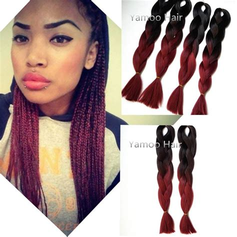expression hair braids wholesalers wholesale amaze burgundy ombre african box hair braiding