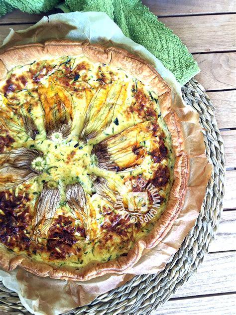 torta con fiori di zucca torta con fiori di zucca 183 italianchips