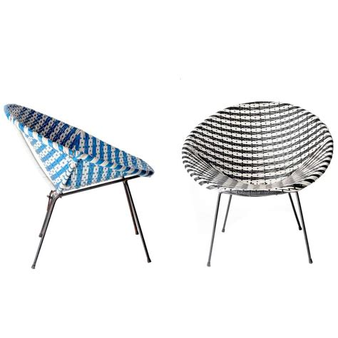 Acapulco Chairs by Two Mid Century Modern Acapulco Chairs At 1stdibs