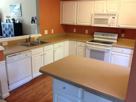 Refinishing Formica Countertops Do Yourself by Refinish Kitchen Countertop Laminate Countertop