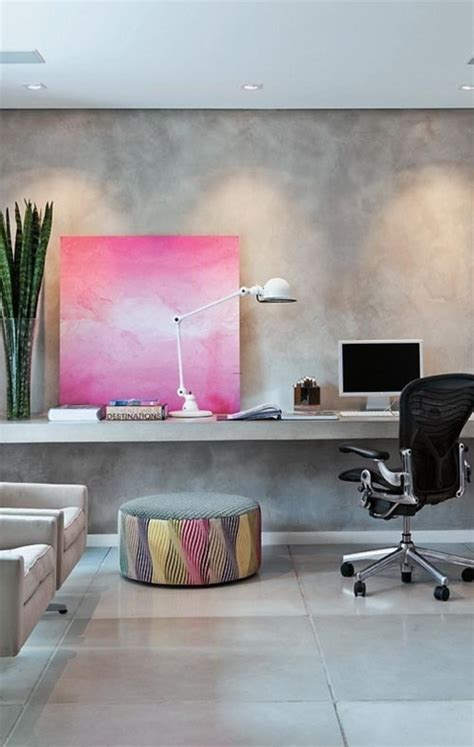 simple minimal office space that glows the tao of dana unexpected pink decor accents feng shui interior design