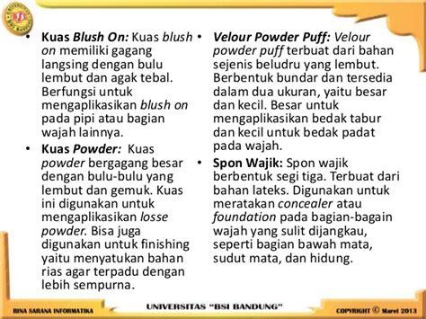 Powder Puff Bedak Tabur Bulat tata rias dan busana