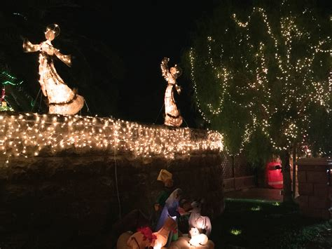 visit candy cane lane during christmas holidays
