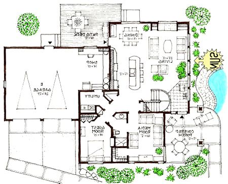 Modern Houses Floor Plan Ultra Modern Home Floor Plans Small Modern Homes