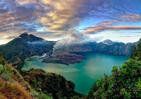 wallpaper anak gunung lombok island the island of incredibly breathtaking