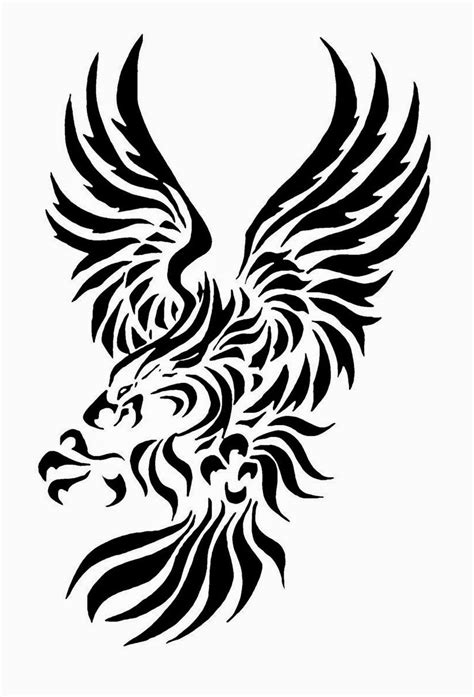 tribal tattoo stencil tattoos book 2510 free printable stencils eagle