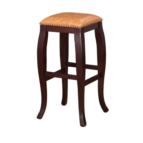 linon home decor bar stools linon home decor claridge pu bar stool in jute
