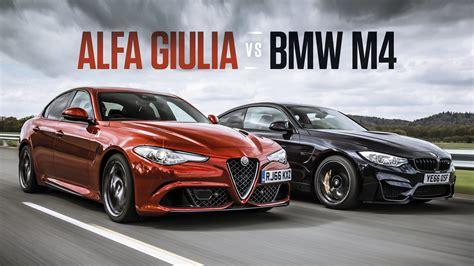 alfa romeo top gear alfa romeo giulia vs bmw m4 competition top gear